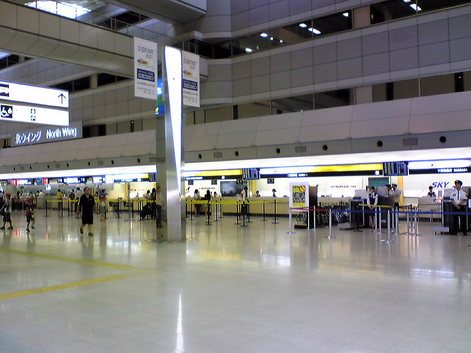 何故?私は羽田空港?