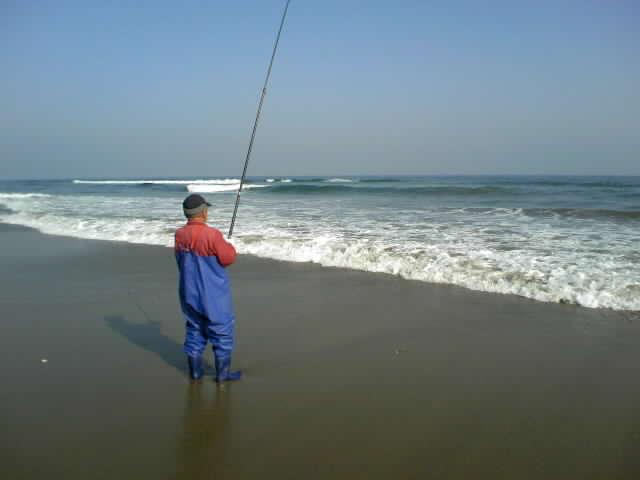 波崎の浜辺で カニ