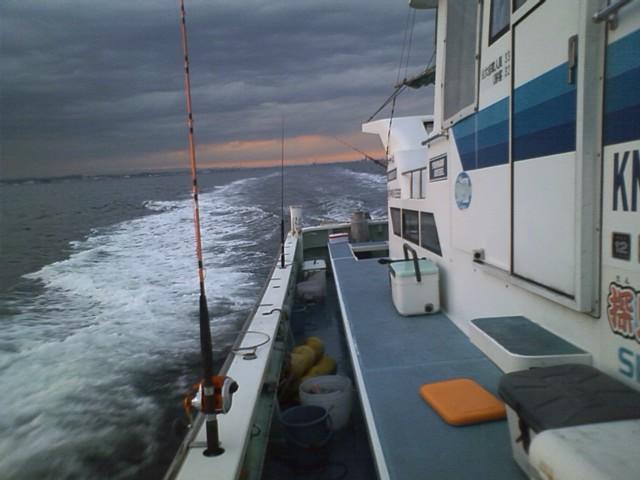 午後船おわりでーす