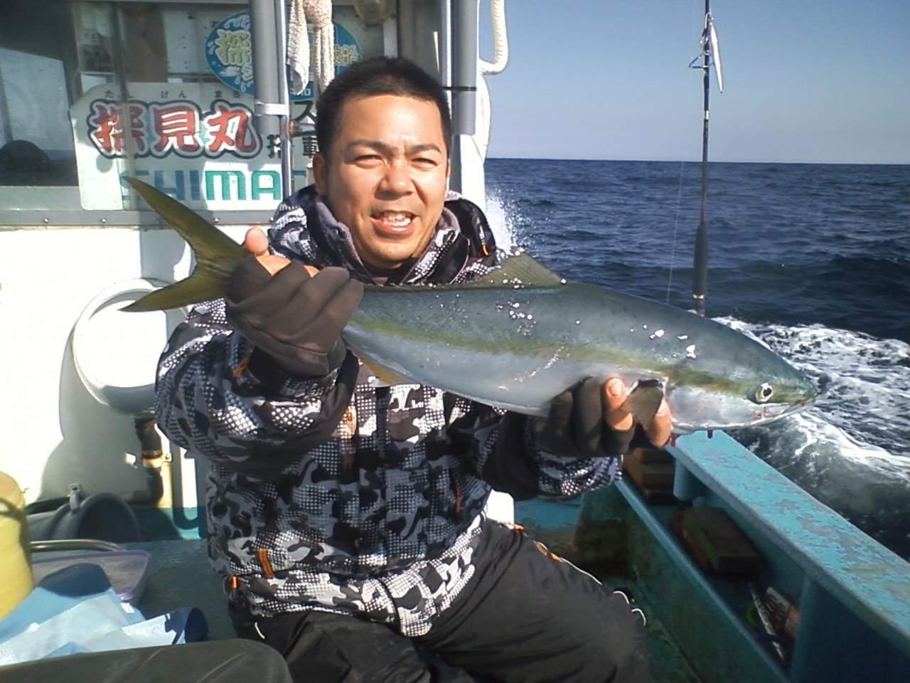 1月28日 有間川港 浅間丸 ジギング